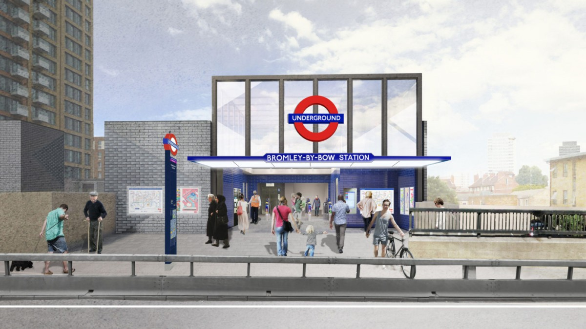 Bromley by Bow Underground Station